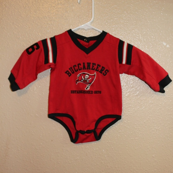 new product 9b5c9 e9b41 😎 3/$15 NFL Tampa Bay Buccaneers Onesie